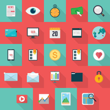 article marketing: SEO Icons