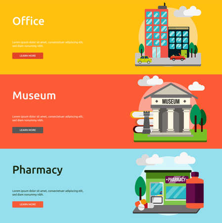 eclectic: Building and Construction Banner Set