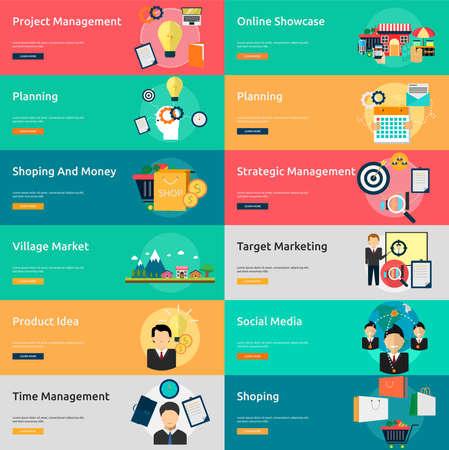 Marketing und Management Standard-Bild - 58516298