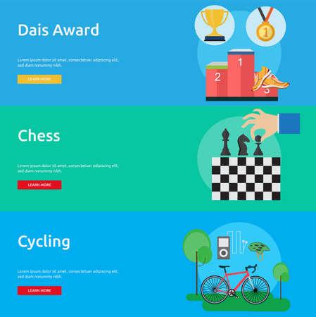 Sport and Awards Illusztráció