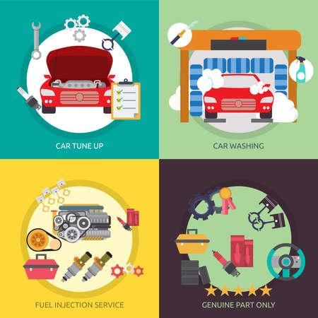 car business: Mechanic and Car Repair