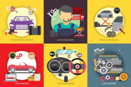 auto service: Mechanic and Car Repair