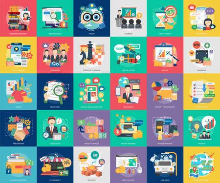 Business Concept Design Illustration