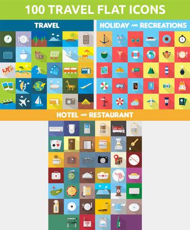 Bundle Travel Icons Set