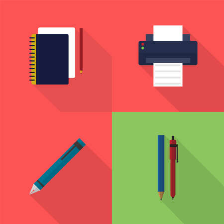 Ontwerp Icons Set Stock Illustratie