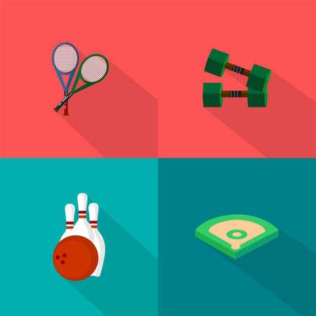 Sport Icons Set 向量圖像
