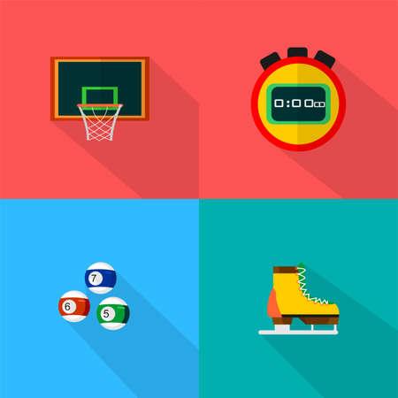 Sport Icons Set Illusztráció