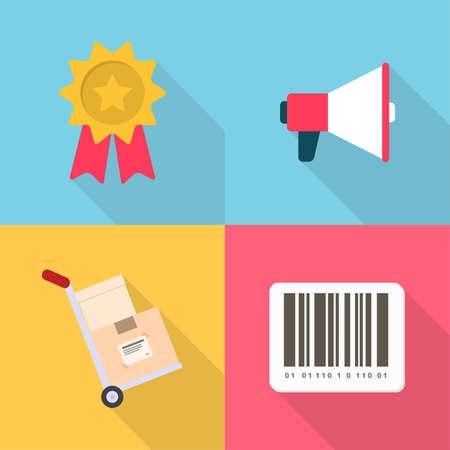 Shopping and E-Commerce Illustration