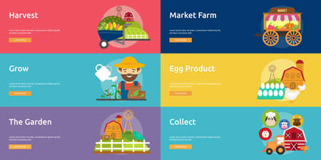 Farm and Ranch Banner Set