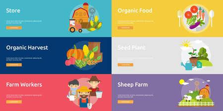ranch: Farm and Ranch Banner Set