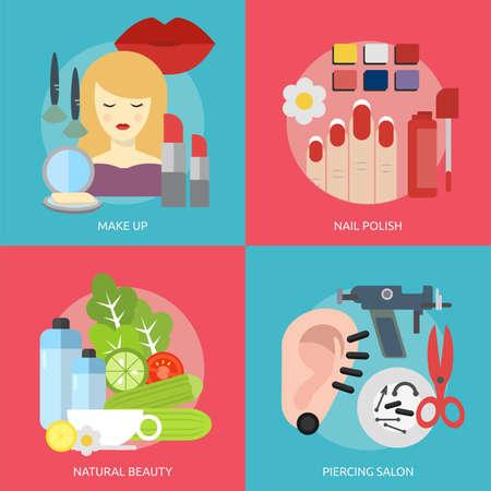 Beauty en Fashion conceptuele ontwerp Stockfoto - 62750238