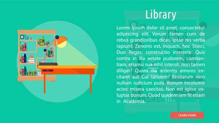 Library Conceptual Banner