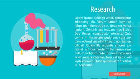 Research Conceptual Banner