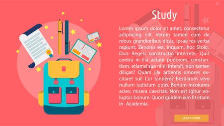 Study Conceptual Banner