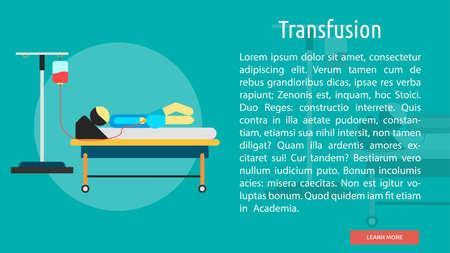 transfusion: Transfusion Conceptual Banner