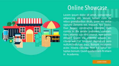 Online Showcase Conceptuele Banner