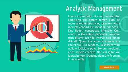 Analytic Management Conceptual Banner
