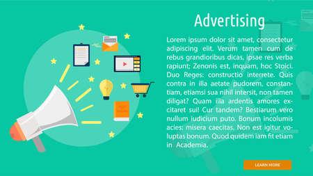 Advertising Conceptual Banner
