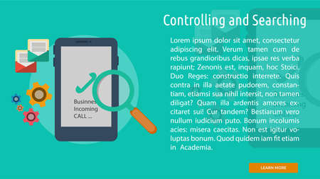 controlling: Controlling and Searching Conceptual Banner