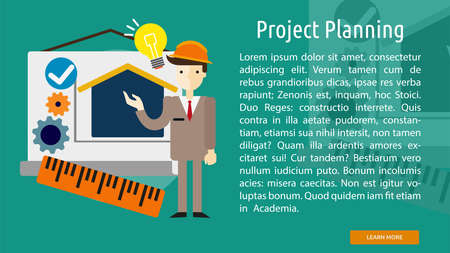planning: Project Planning Conceptual Banner