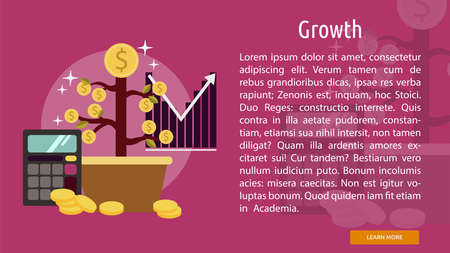growth: Growth Conceptual Banner