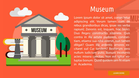 Museum Conceptual Banner
