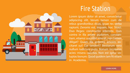 fire station: Fire Station Conceptual Banner
