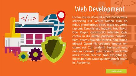 Web 開発概念バナー