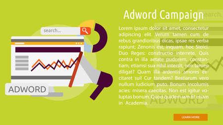 Adword Campaign Conceptual Banner