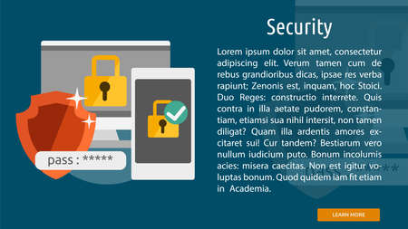 Security Conceptual Banner