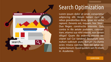 Search Optimization Conceptual Banner