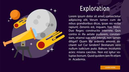 Exploration Conceptual Banner