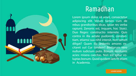Ramadhan Conceptual Banner