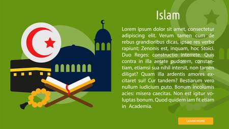 Islam Conceptual Banner