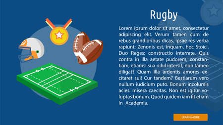 Rugby Conceptual Banner