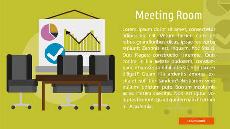 Meeting Room Conceptual Banner