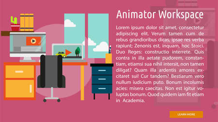 Animator Workspace Conceptual Banner