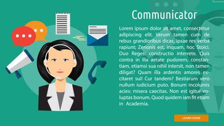 Communication Conceptual Banner