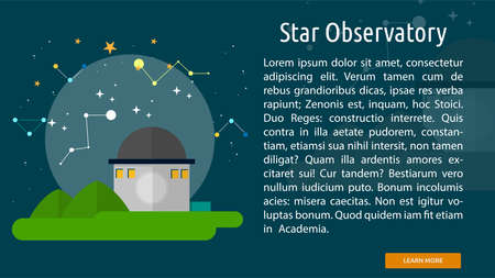 Star Observatory Conceptual Banner