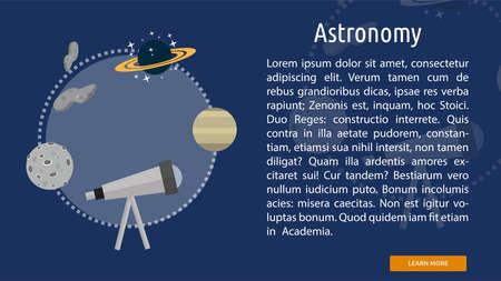 Astronomy Conceptual Banner