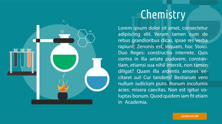 Chemistry Conceptual Banner