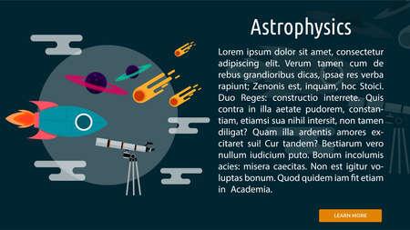 Astrophysics Conceptual Banner
