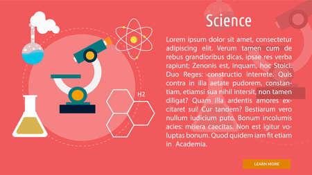 Science Conceptual Banner