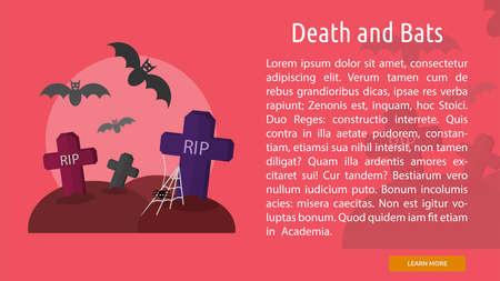 Death and Bats Conceptual Banner