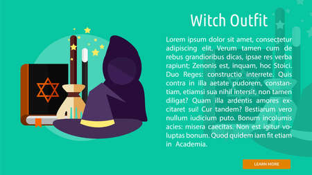Witch Outfit Conceptual Banner