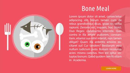 Bone Meal Conceptual Banner