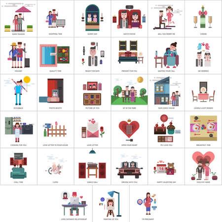 Valentine Conceptual Design 向量圖像