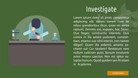 Investigate Conceptual Banner