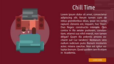 chill: Chill Time Conceptual Banner