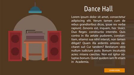 Dance Hall Conceptual Banner